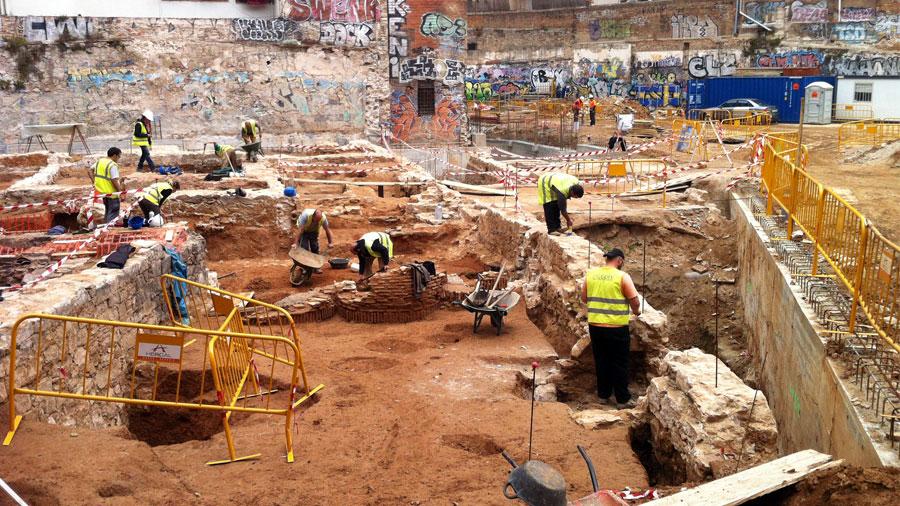 Excavacions, pantalles, apuntalaments i ancoratges Hercal