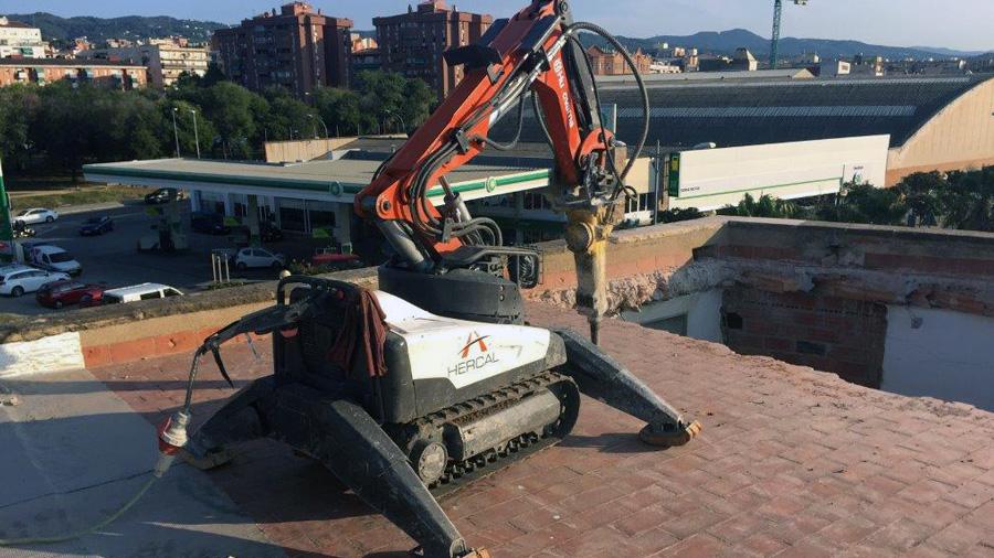 Robots Para Demolición Técnica