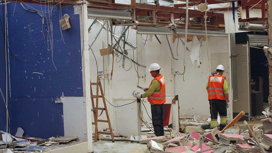 Demolició mercat provisional La Florida
