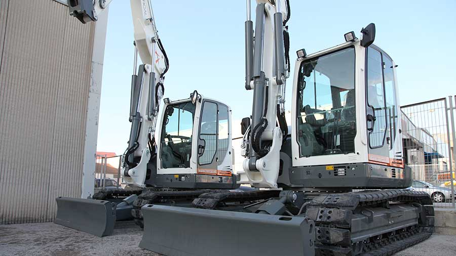 Hercal Adquireix Dues Noves Excavadores Wacker Neuson ET90