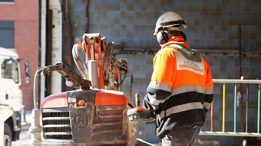 Demolición mercado en Barcelona