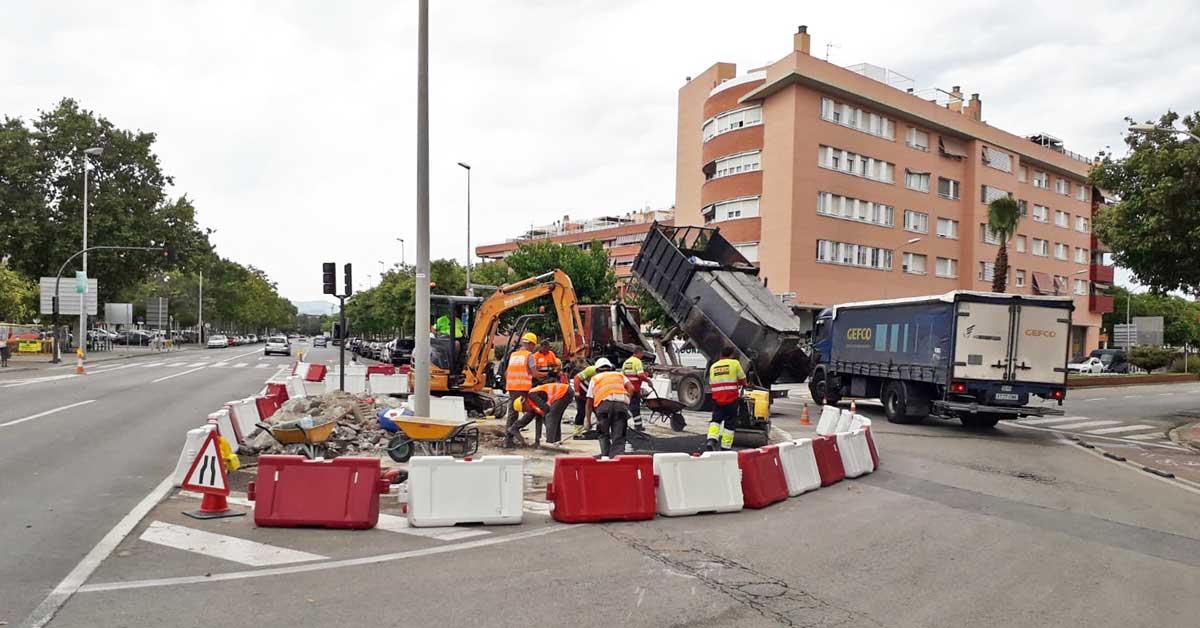 Projectes D'obra Civil En Execució A L'àrea Metropolitana De Barcelona