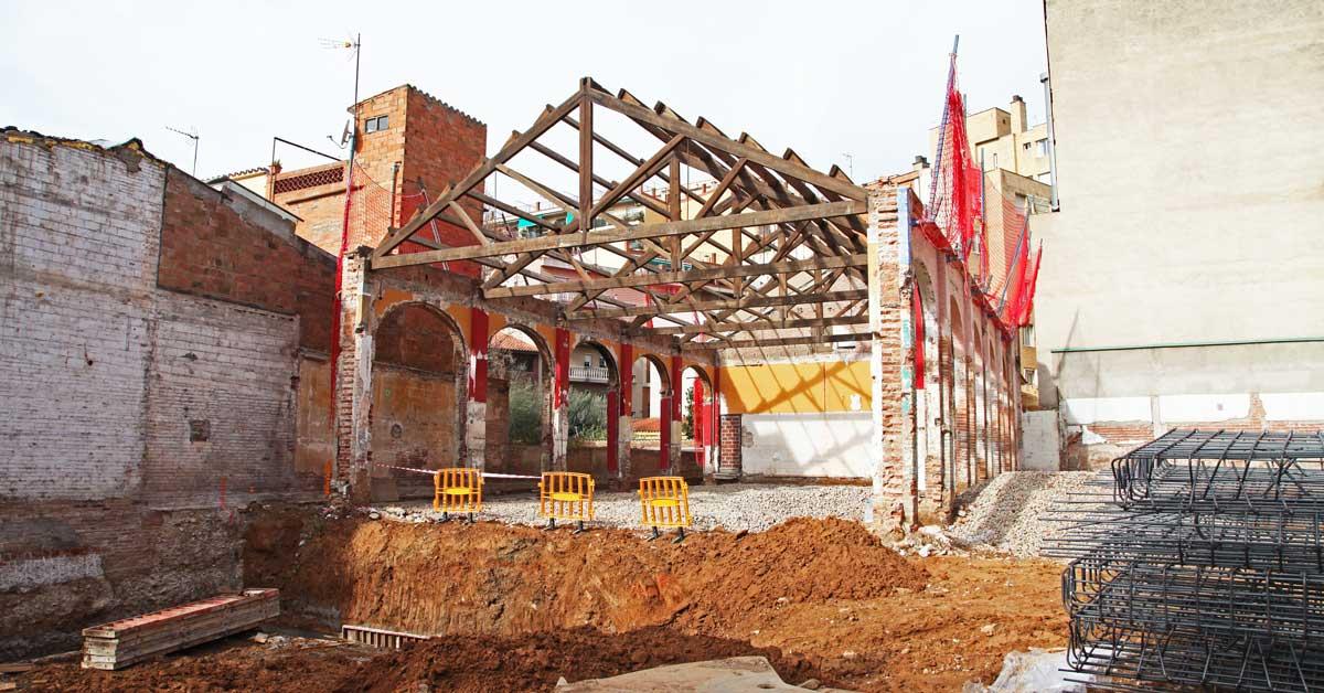Derribo Parcial De Un Centro Cultural En Sant Cugat