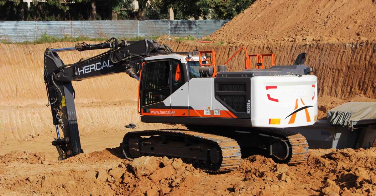 Volvo EC300E: Nueva Máquina Para Aumentar La Flota De Hercal