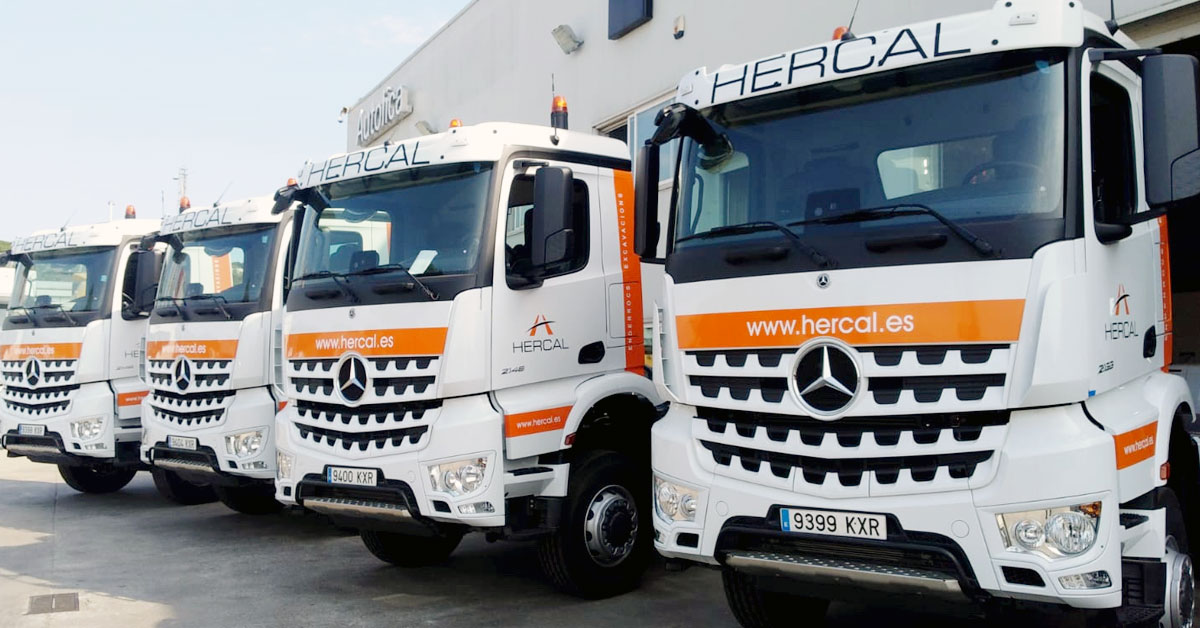 Camions Banyeres Hercal