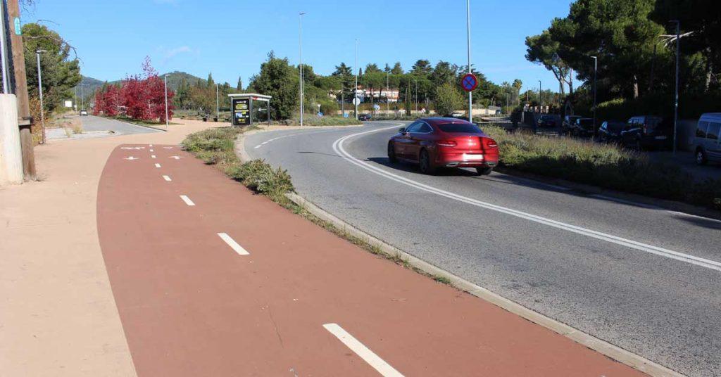 itinerario para bicis y peatones 1