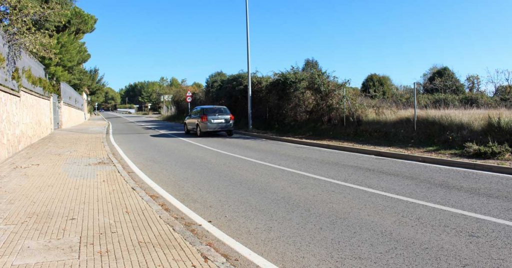 itinerario para bicis y peatones 2