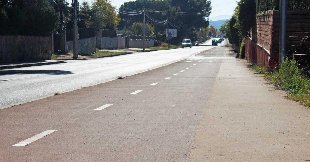 itinerario para bicis y peatones 3