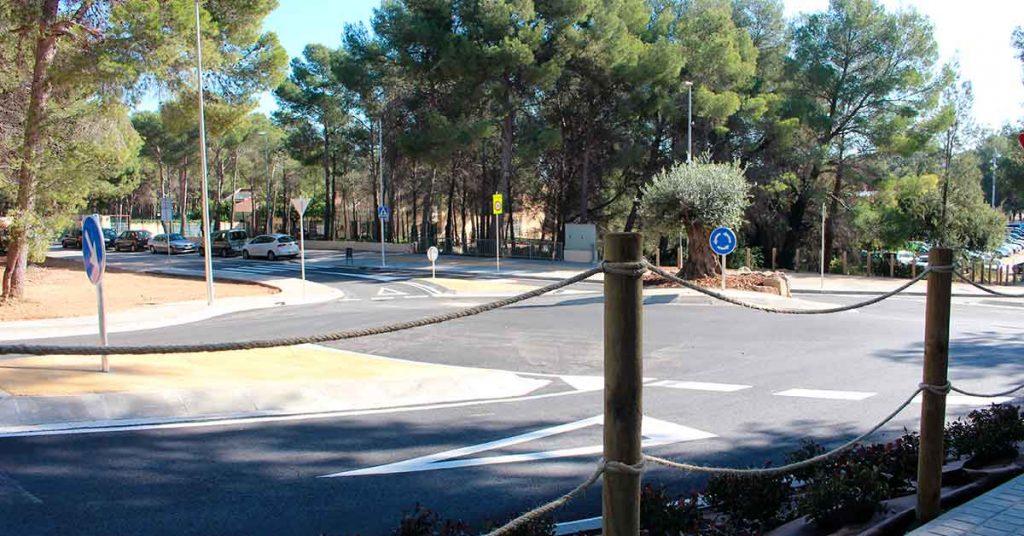 rotonda en Castelldefels 3