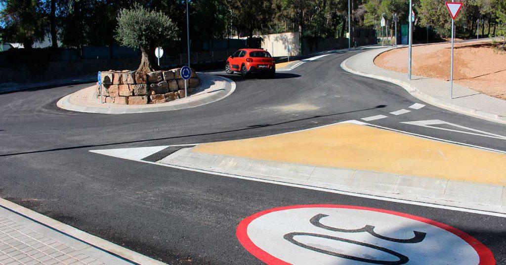 rotonda en Castelldefels 2