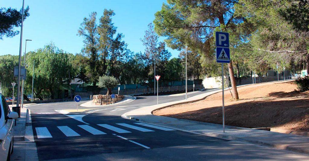 rotonda en Castelldefels 5