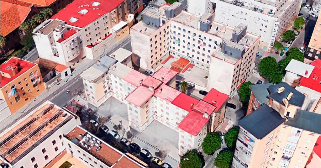 Demolición viviendas Cerro del Moro