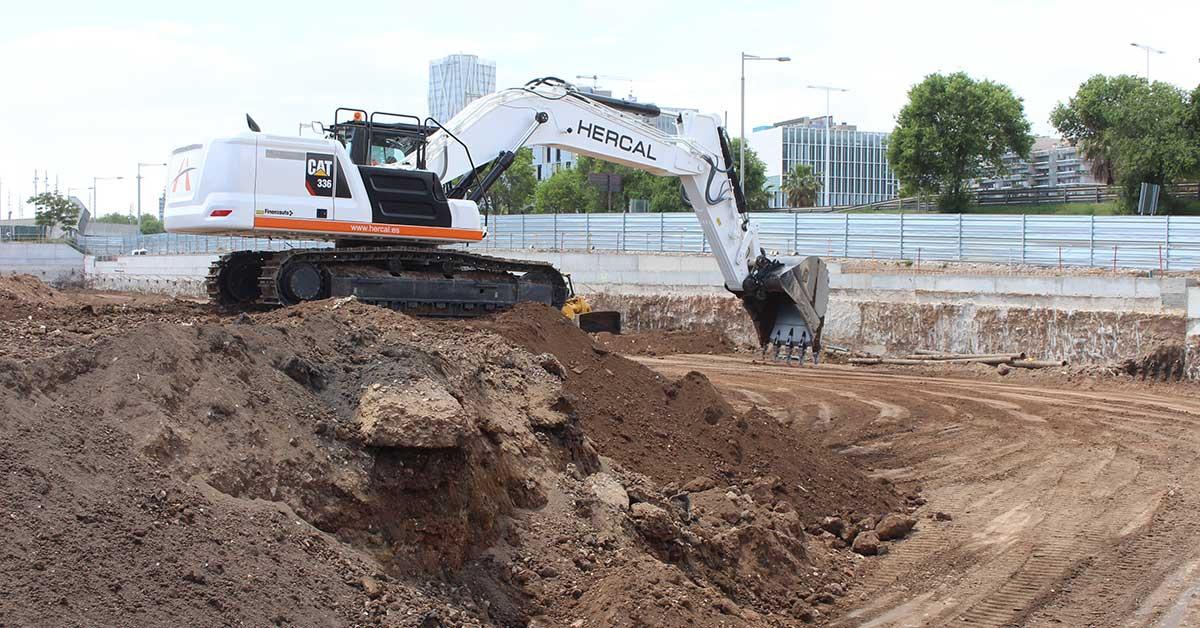 Excavadora CAT 336, nova incorporació a la flota de maquinària pròpia