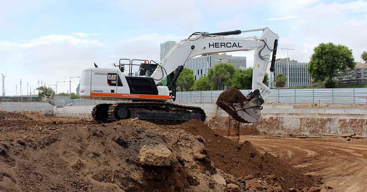 CAT 336: Nova Excavadora Hercal Diggers